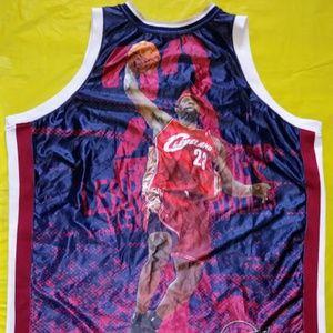 Lebron James Cleveland MVP Commemorative Jersey